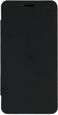 MuditMobi Flip Cover for Micromax Bolt A067(Black, Black, Artificial Leather)