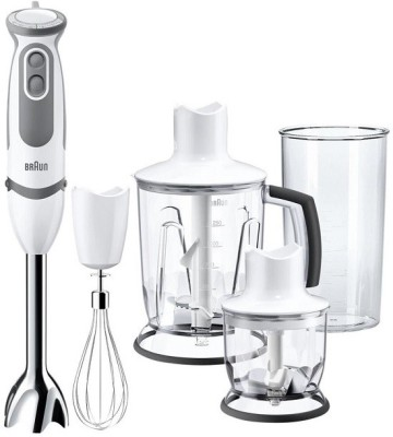 Braun MQ5045 750 W Hand Blender(White,sliver) at flipkart