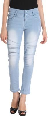 Oriex Slim Women Light Blue Jeans