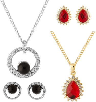 NIA for Voylla Alloy Jewel Set(Gold, Silver) at flipkart