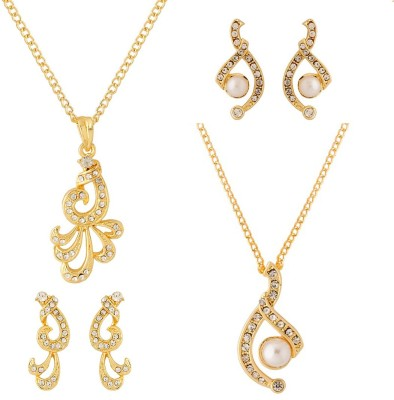 NIA for Voylla Alloy Jewel Set(Gold) at flipkart