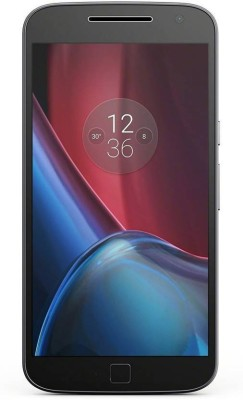 Motorola Moto G4 Plus (Motorola XT1643) 16GB Black Mobile