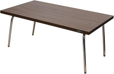 Captiver Engineered Wood Portable Laptop Table(Finish Color - Walnut)