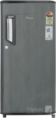 Whirlpool 185 L Direct Cool Single Door Refrigerator(Grey Titanium, 200 IMPWCOOL PRM 3S)
