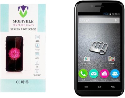 MOBIVIILE Tempered Glass Guard for Micromax Bolt Supreme 2 Q301(Pack of 1)
