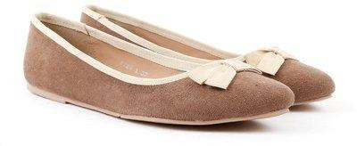 Carlton London Miss CL Bellies(Brown) at flipkart