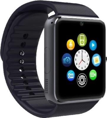 Whitecherry Gt08 Black Smartwatch Black Strap, M Whitecherry Smart Watches
