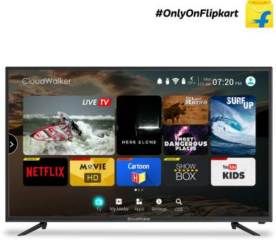 CloudWalker Cloud TV 109cm (43 inch) Full HD LED Smart TV - In-built Wi-Fi ₹28,999₹31,990