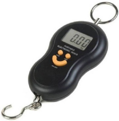 dk-eSTORE 40 Kg Portable Electronic Luggage Weighing Scale(Black)  available at flipkart for Rs.250