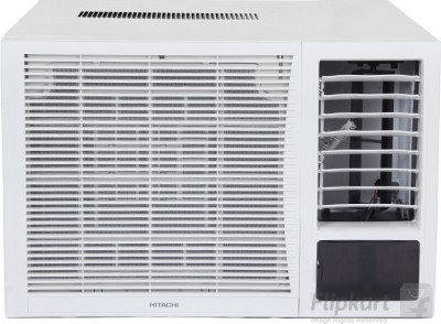 Hitachi 1.5 Ton 3 Star Window AC  - White(RAW318KXDAI, Copper Condenser)   Air Conditioner  (Hitachi)