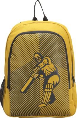 Pinnakle Cricket Fever 17 L Backpack Yellow Pinnakle Backpacks