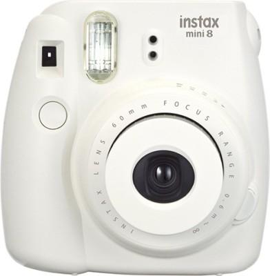 Fujifilm Instax Mini 8 Instant Camera(White)