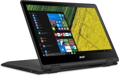 Acer Spin 5 Core i3 7th Gen - (4 GB/256 GB SSD/Windows 10 Home) SP513-51 2 in 1 Laptop(13.3 inch, Black, 1.6 kg)