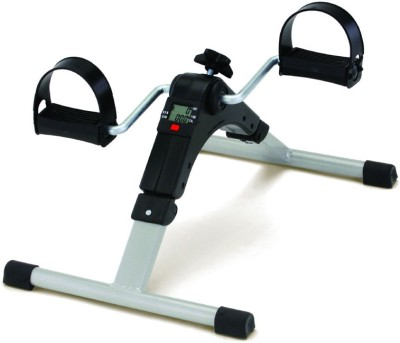 CheckSums 11587 Mini Pedal Fitness Exerciser for Home & Gym Folding Bike Exercise Bike(Black, Silver)  available at flipkart for Rs.1749