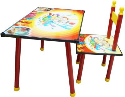 Muren Catchy, Classy & Unique Metal Desk Chair(Finish Color - Red)