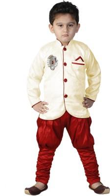 FTC Bazar Boys Kurta and Pyjama Set(Red Pack of 1)