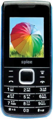 Spice Boss Power 5510(Black & Light Blue)
