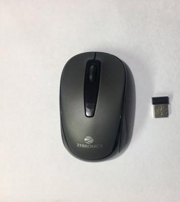 Zebronics swift Wireless Optical Mouse USB, Bluetooth, Black