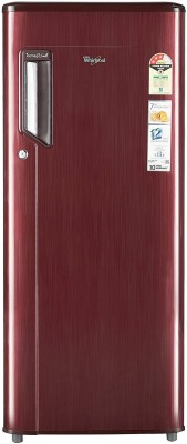 Whirlpool 200 L Direct Cool Single Door Refrigerator(215 IMPWCOOL PRM 3S, Wine Titanium, 2017)