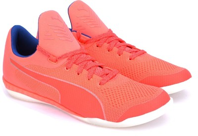 Puma 365 evoKNIT IGNITE CT Football Shoes(Pink) at flipkart