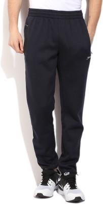 Slazenger Solid Men's Blue Track Pants