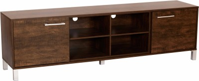 DeckUp Uniti Engineered Wood TV Entertainment Unit(Finish Color - Wenge Matte)