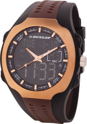 Dunlop DUN-275-G17  Analog-Digital Watch For Unisex