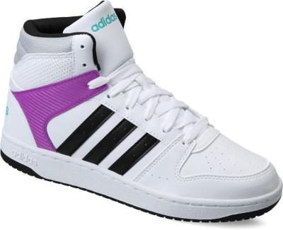 Adidas Neo VS HOOPSTER MID W Sneakers(Black) at flipkart