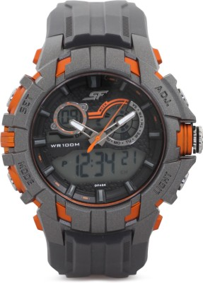 Sonata 77045PP03 Analog-Digital Watch