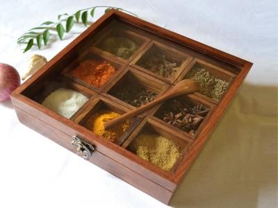 Skwood 1 Piece Spice Set(Wooden) at flipkart