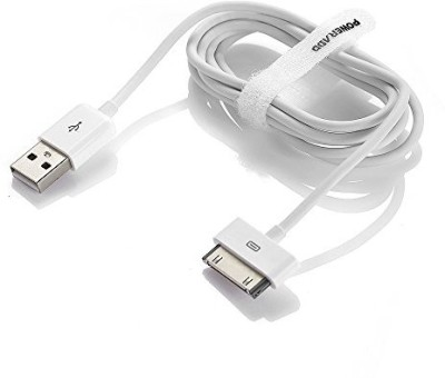 Etrirx USB Data Sync for Apple iPhone 4/4s, 3G iPhone, iPod Nano USB Cable USB Cable(White)