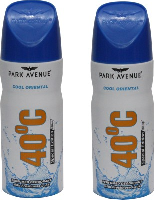Park Avenue Cool*Oriental Combo Perfume Body Spray  -  For Men(260 ml, Pack of 2)