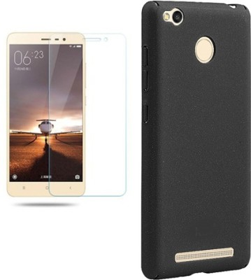 jolies Screen Protector Accessory Combo for redmi 3 s prime(Black, Transparent)