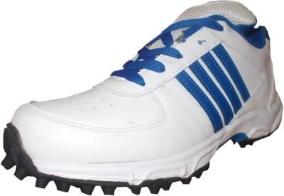 Port Bost Cricket Shoes For Men(White)