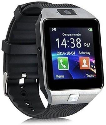 Abrexo Abx-7S-Bluetooth Smartwatch With Sim & Sd Card Support Black Smartwatch(Black Strap Regular) at flipkart