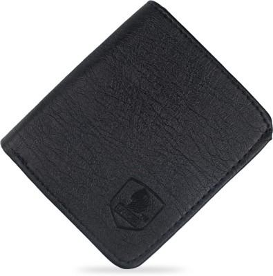 LANDER Men Formal Black Genuine Leather Wallet 10 Card Slots