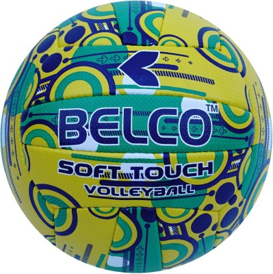 BELCO Synergy 1 Volleyball   Size: 4 Pack of 1, Multicolor