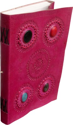 Pranjals House A4 Journal leather, Pink