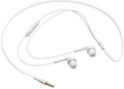 AWAKSHI EH64AWALLEGH513 Wired Headset with Mic(White, In the Ear) 1