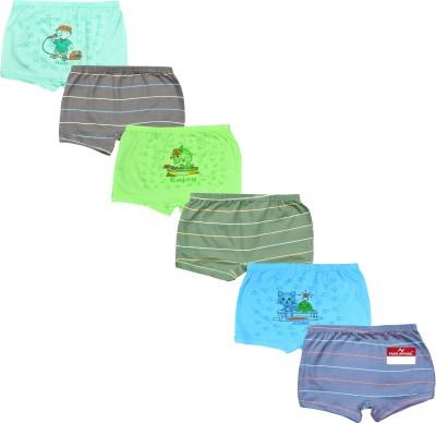 Pride Apparel Brief For Boys(Multicolor Pack of 6) at flipkart