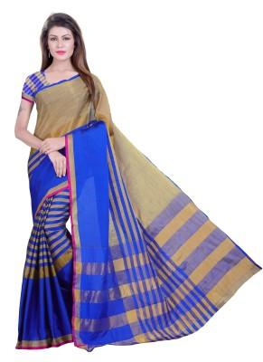 Alka Fashion Solid, Plain Fashion Poly Silk, Polyester, Cotton, Cotton Polyester Blend, Printed Silk, Pure Cotton Saree(Black)