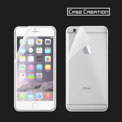 Case Creation Front and Back Screen Guard for 6S Plus, Apple iPhone 6 Plus(Pack of 2)