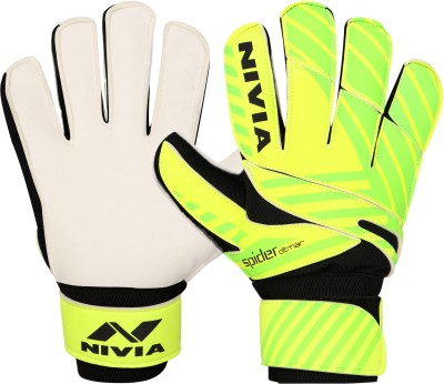 Nivia Ditmar Spider Goalkeeping Gloves (L, Green)