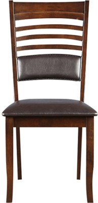 HomeTown Jett Solid Wood Dining Chair(Set of 2, Finish Color - Brown)