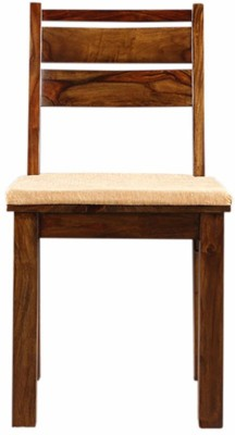 HomeTown Java Solid Wood Dining Chair(Set of 2, Finish Color - Honey)