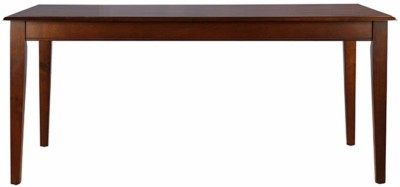 HomeTown Linda Solid Wood 6 Seater Dining Table(Finish Color - Walnut)