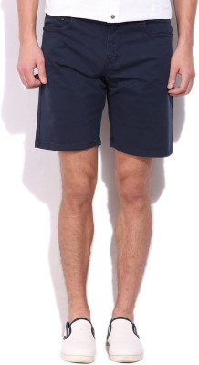 Pepe Jeans Solid Men Beige Basic Shorts