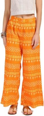 Anouk Regular Fit Women Orange Trousers at flipkart
