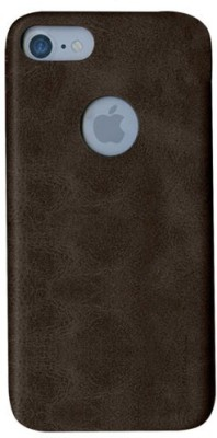 Uniq Back Cover for Apple iPhone 7(Brown, Grip Case)