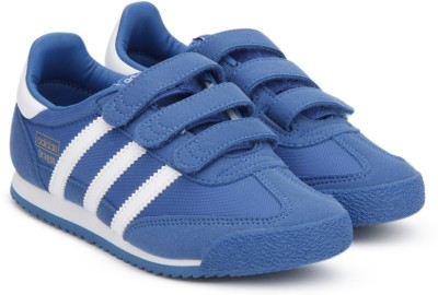 ADIDAS ORIGINALS Boys & Girls Velcro Casual Boots(Blue)